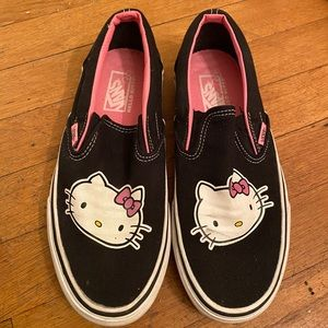 Vans slip on Hello Kitty